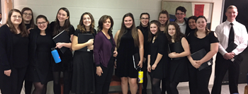 Select Chorus Performs at ONNY's Holiday Concert at Crane