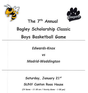 7th Annual Bagley Scholarship Classic Boys Basketball Game