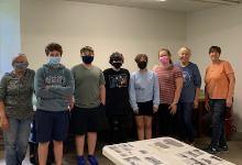 National Junior Honor Society Helps Move Waddington Historical Society