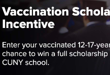 Vaccination Scholarship incentive