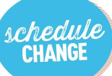 Schedule Change Process